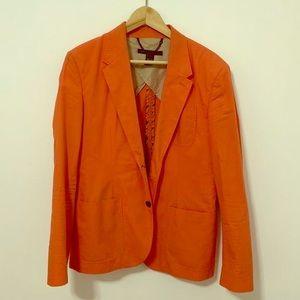 Men's Beautiful bright orange Blazer